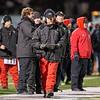 Aurora Christian's head coach Don Beebe<br /> during the 3A semi-final football game at Aurora Christian High School in Aurora , IL on Saturday, November 23, 2013 (Sean King for Shaw Media)