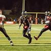 Aurora Christian's Brandon Walgren (3) carries the ball on an option play against Stillman Valley during the 3A semi-final football game at Aurora Christian High School in Aurora , IL on Saturday, November 23, 2013 (Sean King for Shaw Media)