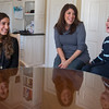 7 yr old Jayden Giancotti (Right) talks to his mother Maria Giancotti about how life is different with an Exchange Student Constanza Canali (Left) living at home in Geneva, IL on Thursday, November 28, 2013 (Sean King for Shaw Media)