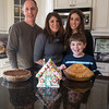 (Left to Right) Joe and Maria Giancotti, Exchange Student Constanza Canali and Jayden Giancotti celebrate ThanksGiving in Geneva, IL on Thursday, November 28, 2013 (Sean King for Shaw Media)