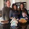 Foreign Exchange Student Constanza Canali (right) celebrates her first ThanksGiving with the Giancottii Family in Geneva, IL on Thursday, November 28, 2013 (Sean King for Shaw Media)
