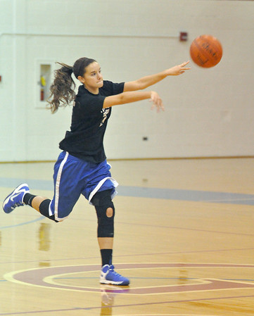 Glenbard South girls basketball practice