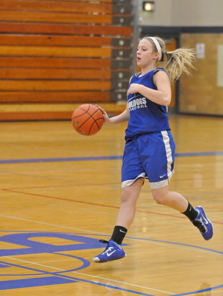 Riverside Brookfield girls basketball practice