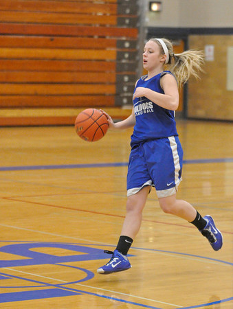 Riverside Brookfield girls basketball practice