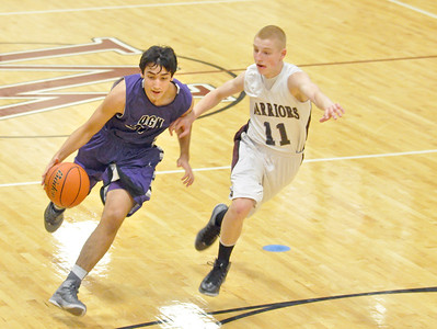 Downers Grove North at Wheaton Academy boys basketball