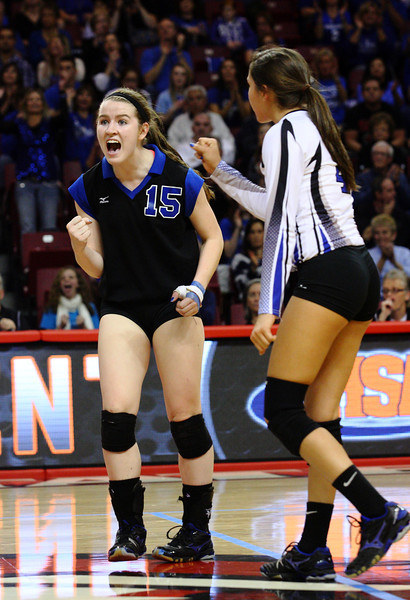 Wheaton St. Francis state volleyball