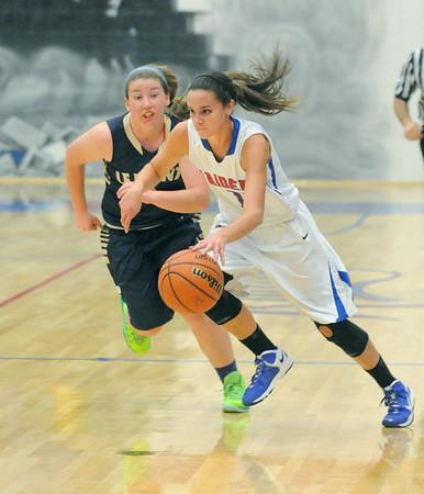 Lemont at Glenbard South girls basketball