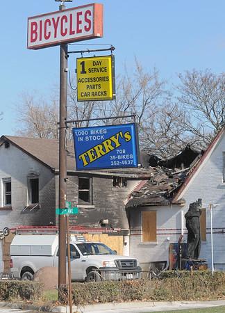 Terry's Byke Haus fire