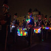Members of the St. Charles East Marching band perform during the Electric Christmas Parade in St. Charles, IL on Saturday, November 29, 2014 (Sean King for Shaw Media)