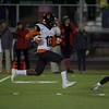 St Charles East's Clayton Isbell carries the ball against Palatine on Nov. 12 at the Class 8A Playoff game in Palatine.