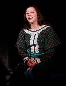 Candace H. Johnson-For Shaw Media Isabelle Esquivel, 16, of Wauconda, plays Cosette during the dress rehearsal of Les Miserables at Wauconda High School.