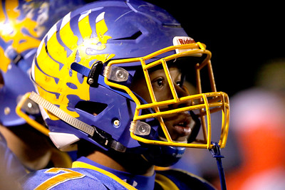 Sarah Nader - snader@shawmedia.com Johnsburg's Alex Peete watches the last seconds of the game during Friday's Class 4A semifinal playoff against Phillips Nov. 18, 2016. Johnsburg won in overtime, 23-20.