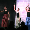 Grace Cerrone, left, plays Flora, Marissa Calusinski, center, plays Fauna and Taylor Ditsworth plays Merryweather during Marquee Youth Stage's presentation of Sleeping Beauty in St. Charles on Nov. 19. The theater company, located in The Quad St. Charles will next perform A Christmas Carol Dec. 2-4 and Dec. 9-11.