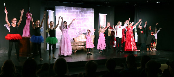 The cast of Sleep Beauty during Marquee Youth Stage's presentation on Nov. 19. The theater company, located in The Quad St. Charles will next perform A Christmas Carol Dec. 2-4 and Dec. 9-11.