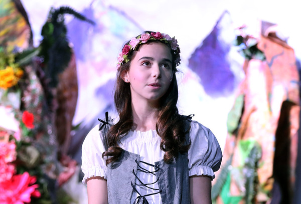 Becca Spezzano plays Aurora during Marquee Youth Stage's presentation of Sleeping Beauty in St. Charles on Nov. 19. The theater company, located in The Quad St. Charles will next perform A Christmas Carol Dec. 2-4 and Dec. 9-11.