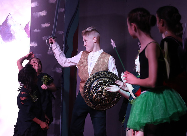 Kai Neumaier plays Prince Phillip during Marquee Youth Stage's presentation of Sleeping Beauty in St. Charles on Nov. 19. The theater company, located in The Quad St. Charles will next perform A Christmas Carol Dec. 2-4 and Dec. 9-11.
