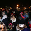 A crowd observes the lighting of the Christmas tree during the Celebration of Lights Festival on the Batavia Riverwalk on Nov. 27.