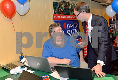 David Olson election night party