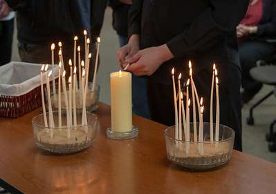 Candles are lit in honor of those who have been lost to suicide at the annual Day of Remembrance event hosted by the Suicide Prevention Task Force and Survivors Loss support groups Saturday, November 17, 2018 in Crystal Lake.  KKoontz – For Shaw Media