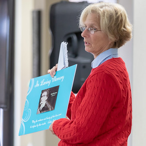Beverly Jacobson talks about her son Grant and his life at the annual Day of Remembrance event hosted by the Suicide Prevention Task Force and Survivors Loss support groups Saturday, November 17, 2018 in Crystal Lake. The group honored those lost through the sharing of stories and memories, while providing comfort, understanding, and hope to those left behind. KKoontz – For Shaw Media