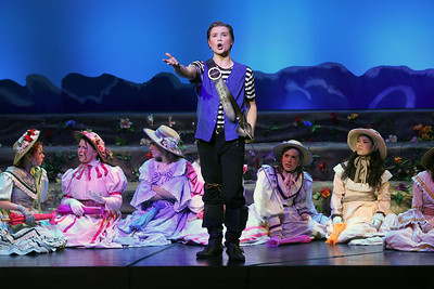 "Candace H. Johnson-For Shaw Media Frederic, played by Alex Andersen, sings, ""Oh, Is There Not One Maiden Breast,"" during The Pirates of Penzance at Wauconda High School. (11/21/19)"