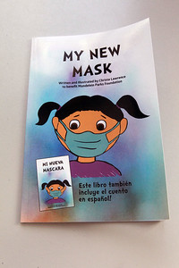 """Candace H. Johnson-For Shaw Media Christa Lawrence's, marketing manager for the Mundelein Park & Recreation District, new book titled, """"My New Mask,"""" can be purchased at the Mundelein Community Center and on Amazon for $10 each. Proceeds from the book benefit the Mundelein Parks Foundation. (11/2/20)"""
