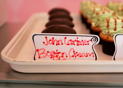 Monica Maschak - mmaschak@shawmedia.com This month, SweetPea Cakes in Crystal Lake dedicate a cupcake in memory of Petty Officer John Larimer and honor him and his favorite dessert with a Boston Cream Pie cupcake.