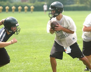 Fenwick quarterback Mike Androwich
