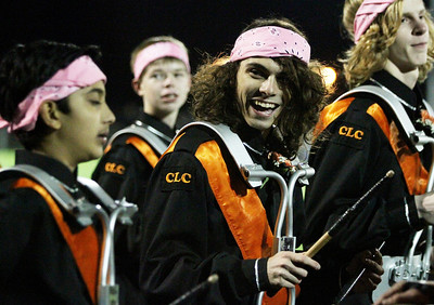 Mike Greene - mgreene@shawmedia.com Crystal Lake Central band members play before the start of a game against Grayslake North Friday, October 5, 2012 at Crystal Lake Central. Grayslake North (6-1) defeated Crystal Lake Central (5-2) 32-20 to clinch a playoff spot.