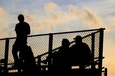Sarah Nader - snader@shawmedia.com Fans watch the Class 2A Grayslake Central Sectional Semifinal game in Grayslake on October 24, 2012. 0