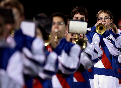 Sarah Nader - snader@shawmedia.com The Dundee-Crown marching band performs at half-time during Friday's game against Jacobs in Carpentersville on October 19, 2012. Jacobs won, 21-3.