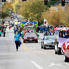 The St. Charles North homecoming parade heads east on Illinois Street Friday afternoon. (Sandy Bressner photo)