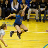 St. Charles North loses 23-25, 19-25 IHSA Class 4A Larkin Sectional in a semifinal loss against Glenbard West. (Sandy Bressner photo)