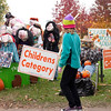 Clare Woods Academy displays their scarecrow design at the annual Scarecrow Fest in St. Charles Saturday, October 6.