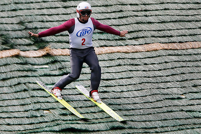 Kyle Grillot - kgrillot@shawmedia.com    the 28th annual Autumn Ski Jump competition Sunday at the Norge Ski Club in Fox River Grove.