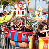Kids enjoy the carnival rides during Scarecrow Fest in downtown St. Charles Friday afternoon.