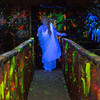 Actress Heidi Swarthout, 21 from Oswego, IL plays a Living Statue luring visitors to her funeral parlor in the KC Scaregrounds haunted house at The Kane County Fairgrounds in St. Charles, IL on Wednesday, October 09, 2013 (Sean King for Shaw Media)