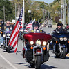 Jeff Krage – For Shaw Media<br /> Motorcycles arrive Sunday at the Batavia VFW as part of the DuKane ABATE Food/Toy Run.<br /> Batavia 10/13/13