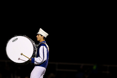 Sarah Nader- snader@shawmedia.com The Dundee-Crown marching band performs during half-time at Friday's game against McHenry in Carpentersville October 18, 2013. Dundee-Crown defeated McHenry, 49-21.