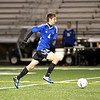 Geneva's Jason Lagger chases the ball during their 1-0 3A regional semifinal loss to Neuqua Valley at home Tuesday night.