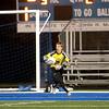 Geneva goalkeeper Joe Mozden makes a save during their 1-0 3A regional semifinal loss to Neuqua Valley at home Tuesday night.