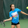 Batavia junior Amelia Cogan will be competing in today's state tennis tournament with doubles partner Jenny Mizikar. Cogan and her family will be moving to Idaho at the end of this season.Batavia junior Amelia Cogan practices with teammates at the Vaughan Athletic Center in Aurora Tuesday. Cogan will be competing in today's state tennis tournament with doubles partner Jenny Mizikar.