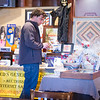 Tim Gutierrez of Glendale Heights looks over auction items <br /> at The Beehive in St.Charles, IL on Sunday, October 27, 2013 (Sean King for Shaw Media)