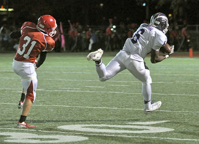 Downers Grove North at Hinsdale Central football