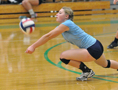 Downers Grove South at York volleyball