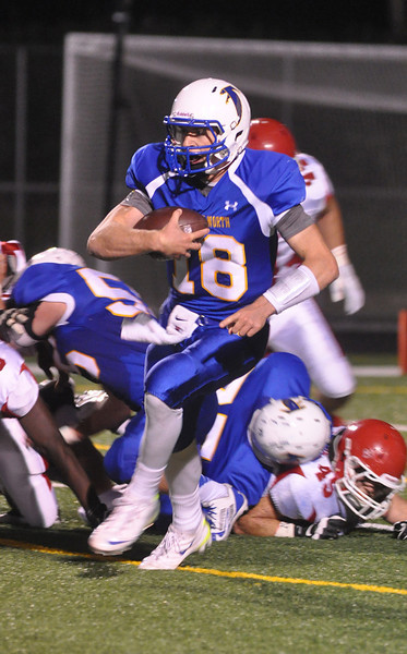Naperville Central at Wheaton North football