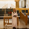 Senior Pastor Rev. Mary Zajac speaks about marriage during a wedding vow reaffirmation ceremony at Baker Memorial United Methodist Church in St. Charles, IL on Saturday, October 18, 2014 (Sean King for Shaw Media)
