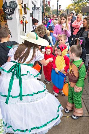 La Grange Halloween Walk