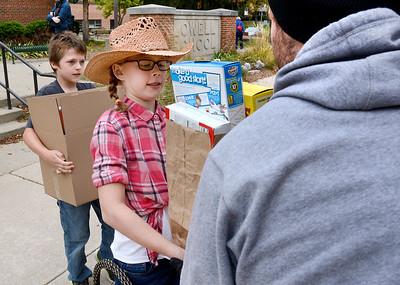 Lowell Elementary Participates in Wheaton's Stuff-A-Truck