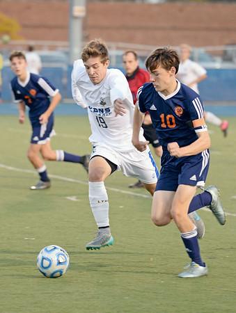 Lyons Township boys soccer